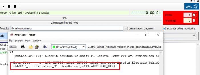 Cruise和Matlab API接口联合仿真报错:Initialize_91: LoadLibrary(MATLABENGINE_DLL)或Initialize_91: EngOpen