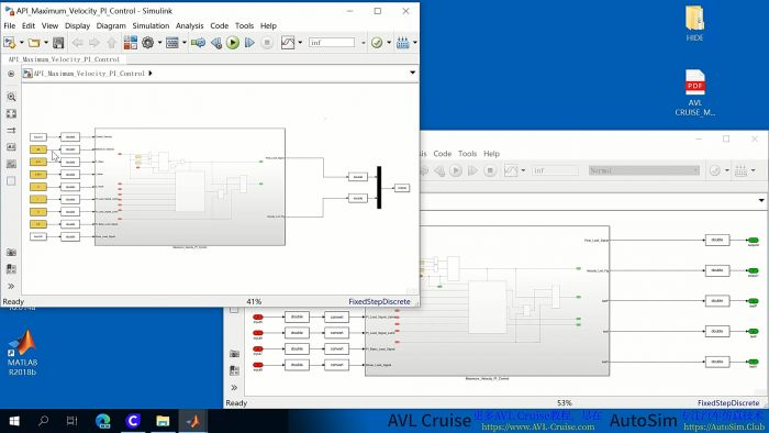AVL Cruise & Matlab/Simulink使用DLL接口联合仿真视频教程|实例演示 ... ... ... ...