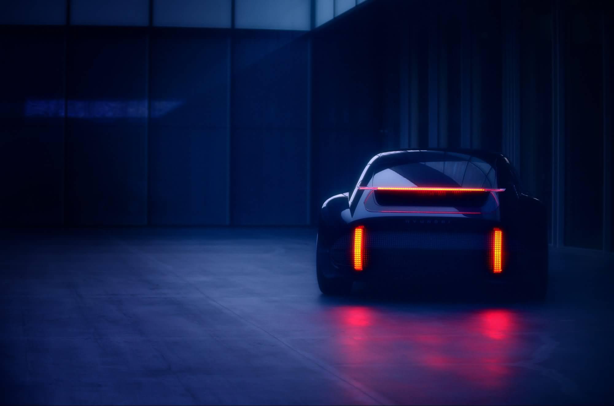 现代概念车EV Prophecy将在日内瓦车展亮相